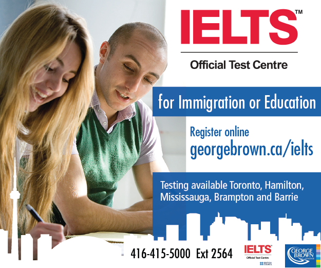 IELTS George Brown
